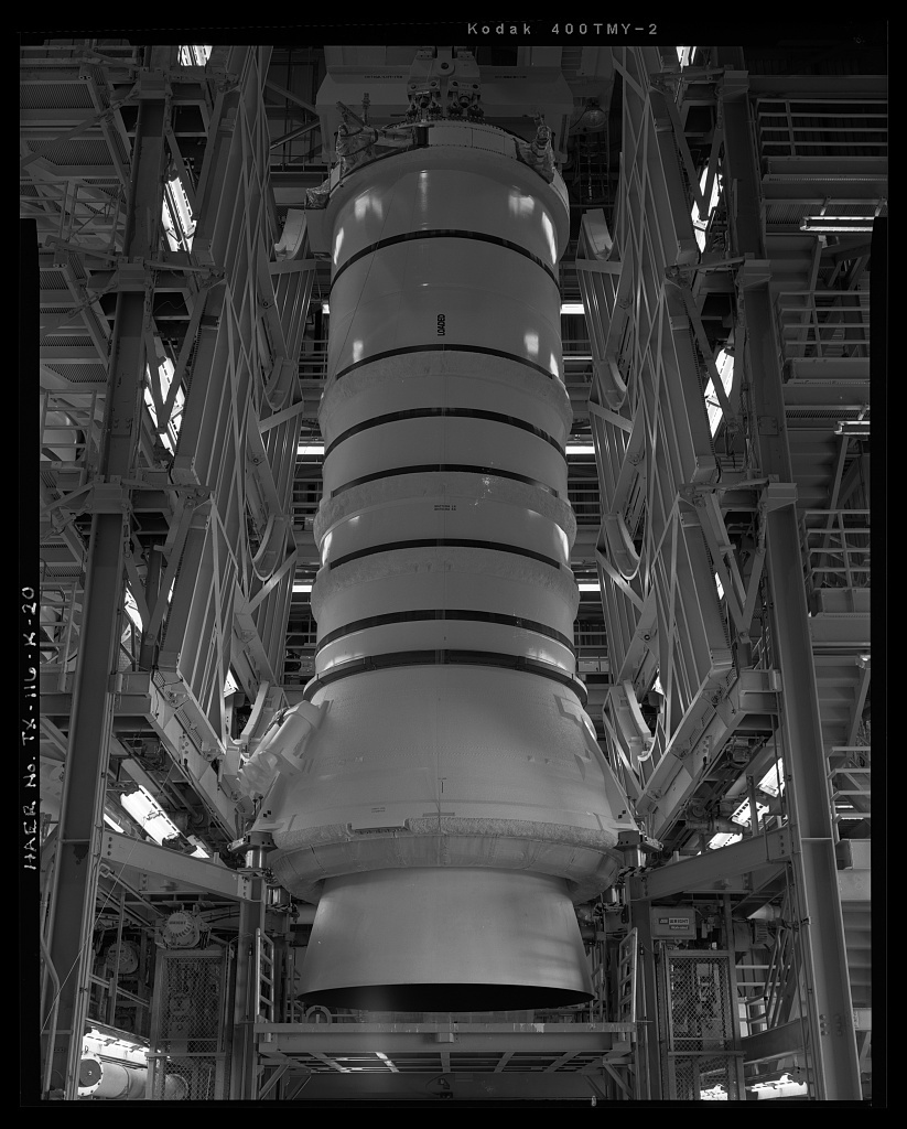 Space Transportation System, Solid Rocket Boosters, Lyndon B. Johnson Space Center, 2101 NASA Parkway, Houston, Harris County, TX