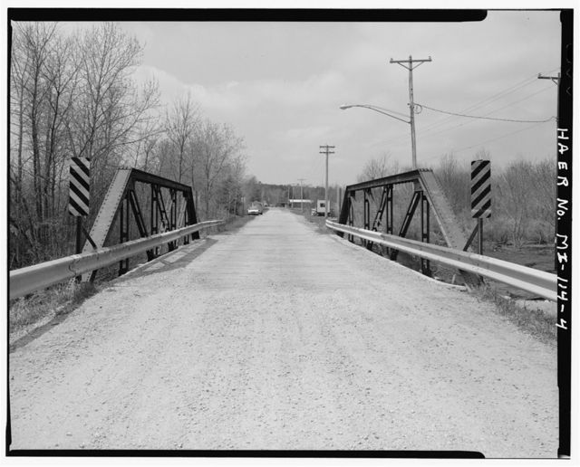 Spalding Bridge, Spanning Big Cedar River, Spalding, Menominee County, MI