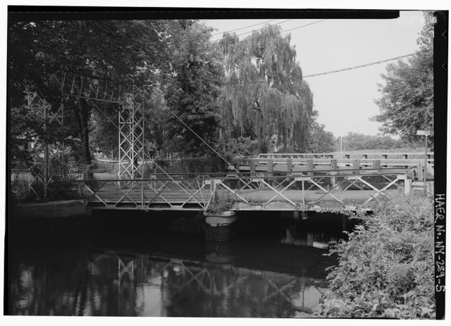 Sparkill Creek Drawbridge, Spanning Sparkill Creek at Bridge Street, Piermont, Rockland County, NY