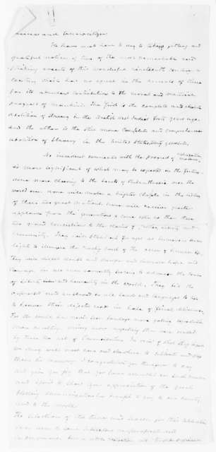 Speech Comparing Abolition Movements and Emancipation in Great Britain and the United States