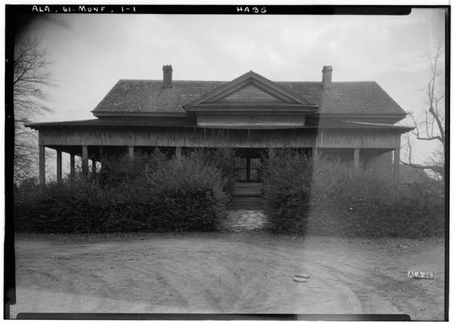 Spence House, State Road 21, Munford, Talladega County, AL