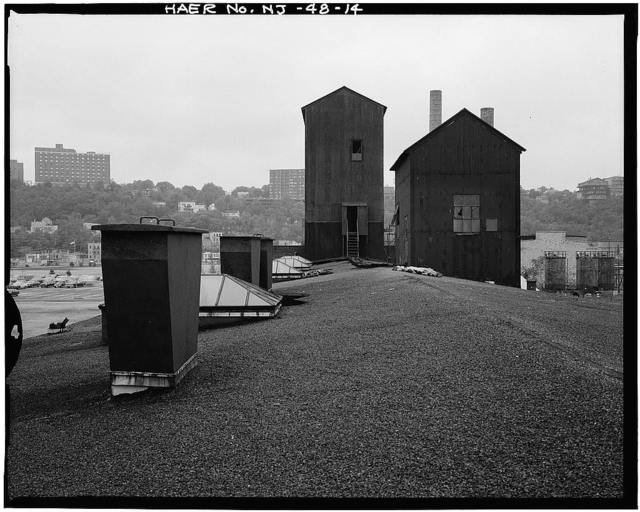 Spencer Kellogg & Sons, Incorporated, Pier & Transit Shed, 139-155 River Road, Edgewater, Bergen County, NJ