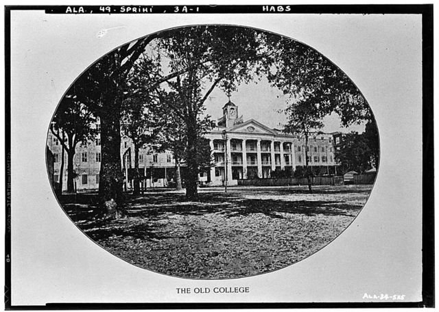 Spring Hill College, Original Building, Old Shell Road, Spring Hill, Mobile County, AL