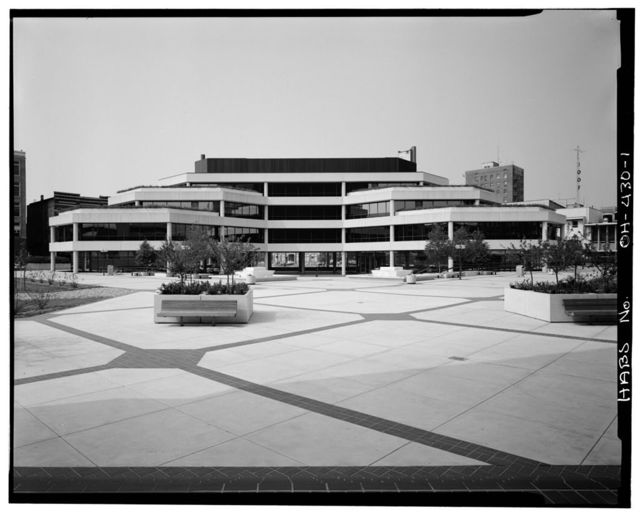Springfield City Hall (1979), 76 East High Street, Springfield, Clark County, OH