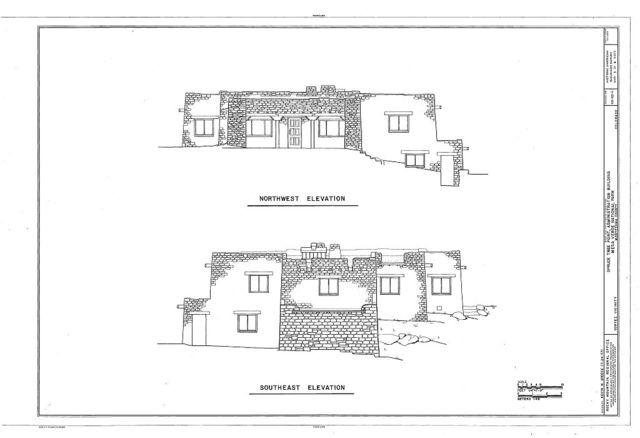 Spruce Tree Point, Administrative Building, Mesa Verde Administrative District, Cortez, Montezuma County, CO