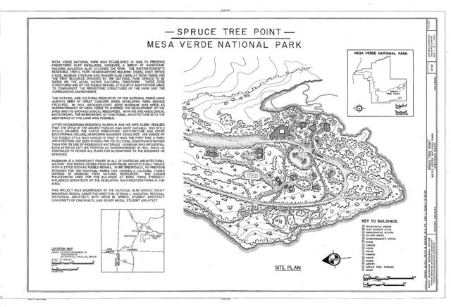 Spruce Tree Point, Mesa Verde Administrative District, Cortez, Montezuma County, CO