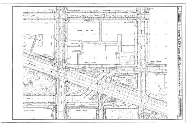 Square 226 & Reservations 32 & 33, Pennsylvania Avenue Northwest, between Thirteenth & Fifteenth, Washington, District of Columbia, DC