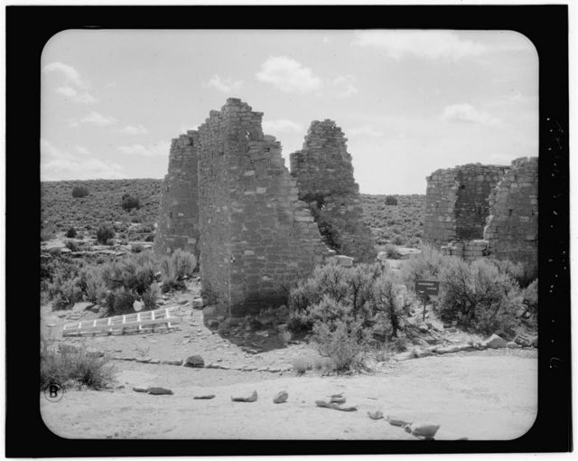 Square Tower Group, Hovenweep Castle, Near park headquarters, Aneth, San Juan County, UT