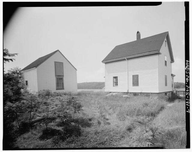 Squirrel Point Light Station, Off Highway 127, Steen Road to end of Bald Head Road, .8 mile down footpath, Arrowsic, Sagadahoc County, ME