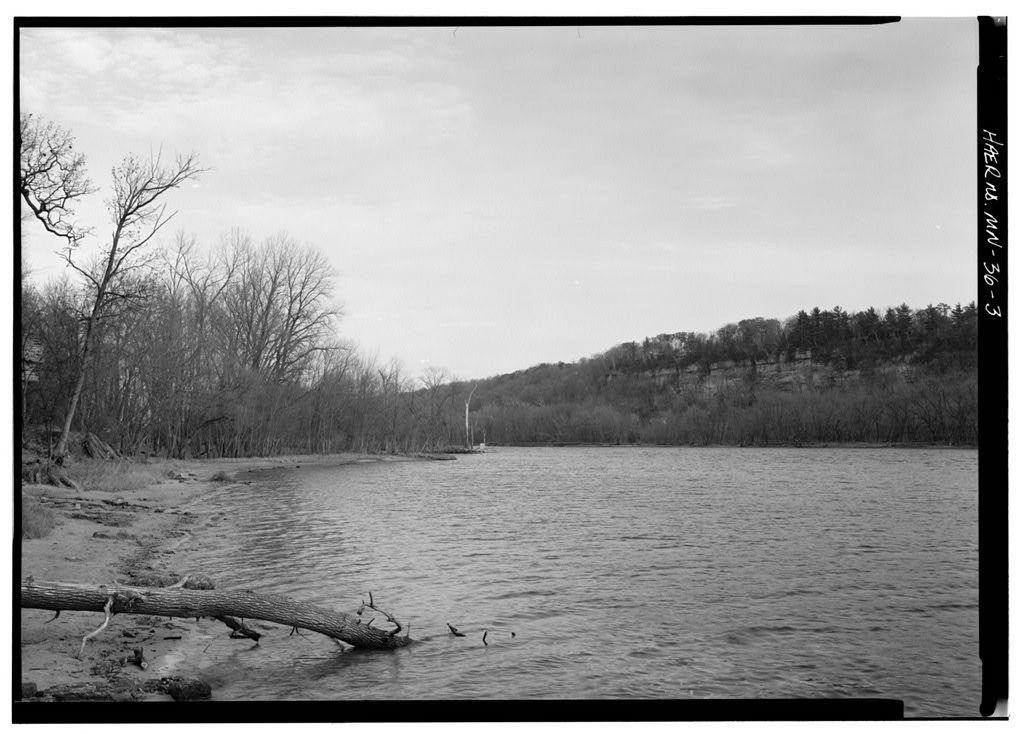 St. Croix Boom Site, 3 Miles North of Stillwater, along St. Croix River, Stillwater, Washington County, MN