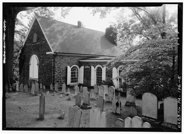 St. David's Church (Episcopal), Valley Forge Road (Newtown Township), Wayne, Delaware County, PA
