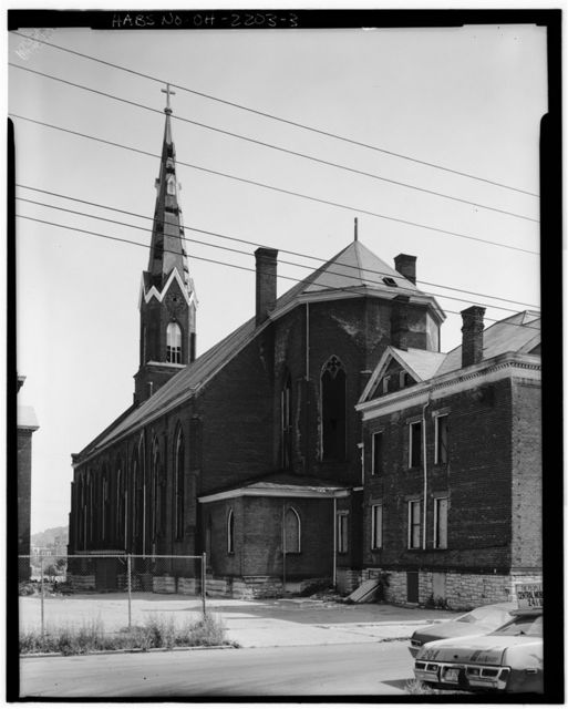 St. Heinrich's Roman Catholic Church, 1057 Flint Street, Cincinnati, Hamilton County, OH