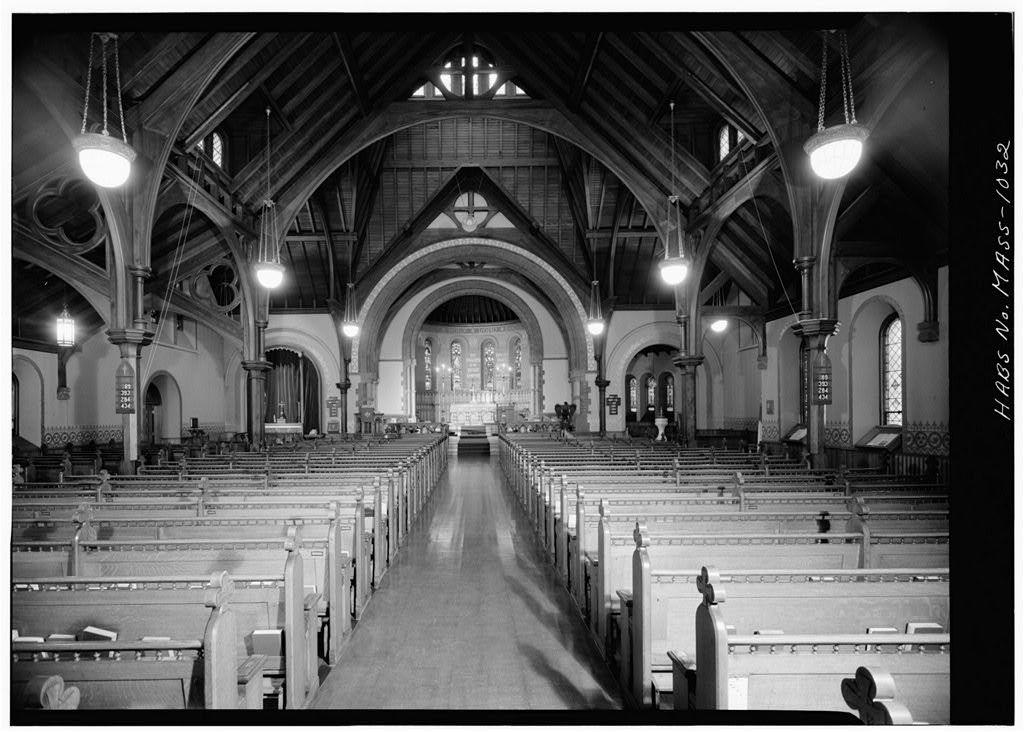 St. James Church, 1991 Massachusetts Avenue, Cambridge, Middlesex County, MA