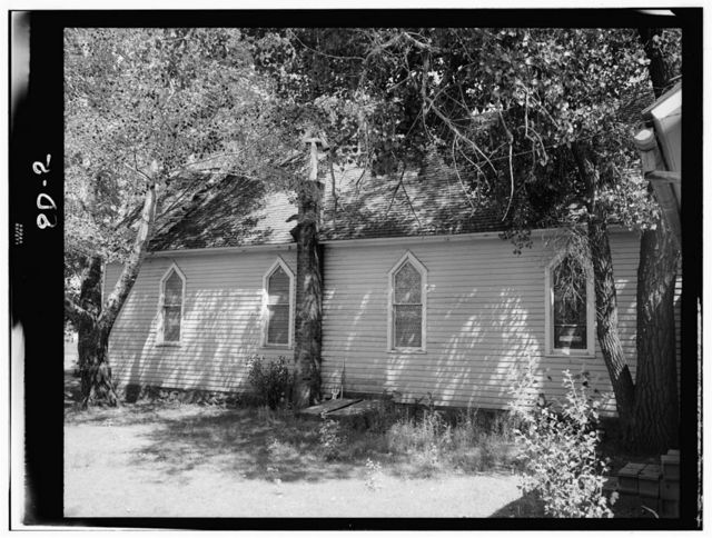 St. John's Episcopal Mission, Chapel & Rectory, Fort Bennett Vicinity, Green Grass, Dewey County, SD