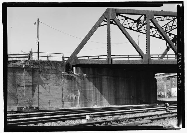 St. Louis Avenue Viaduct, Spanning Kansas City Terminal Railroad at Beardsley Road & Bluff Street, Kansas City, Jackson County, MO