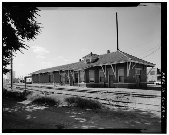 St. Louis, San Francisco Railroad Station, Perry, Noble County, OK