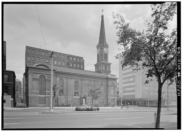 St. Mary's Church, 836 North Broadway, Milwaukee, Milwaukee County, WI