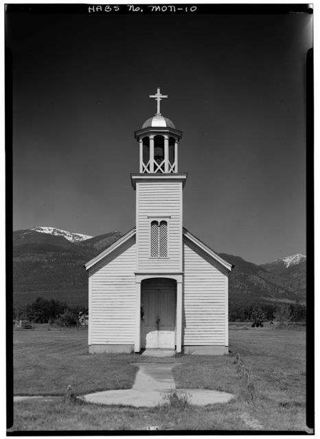 St. Mary's Mission (Roman Catholic), Stevensville, Ravalli County, MT