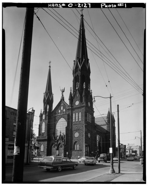 St. Michael the Archangel Roman Catholic Church, 3114 Scranton Road, Cleveland, Cuyahoga County, OH