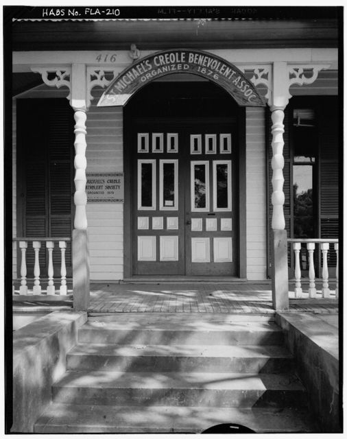 St. Michael's Creole Benevolent Association, 410 East Government Street, Pensacola, Escambia County, FL