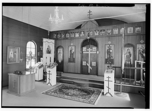 St. Nicholas Russian Orthodox Church, Church Street & Park Avenue, Brookside, Jefferson County, AL