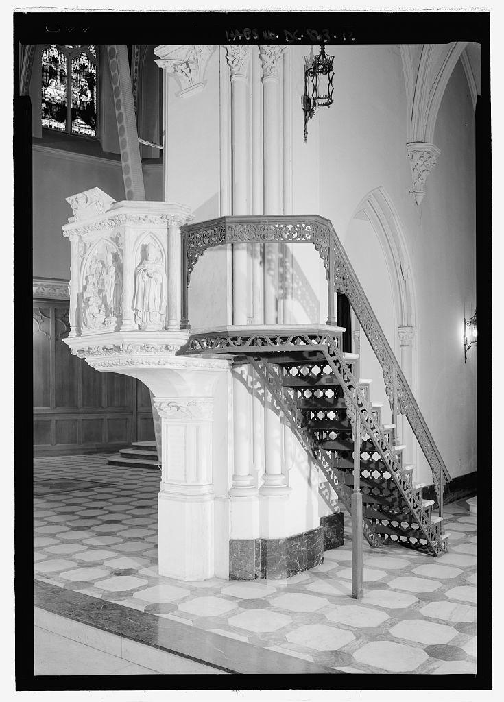 St. Patrick's Catholic Church, 619 Tenth Street, NW, Washington, District of Columbia, DC