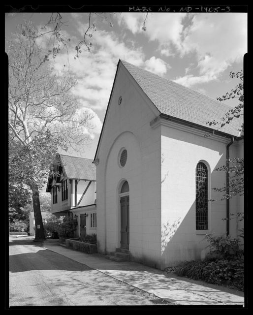 St. Paul's Episcopal Church, 301 South Liberty Street, Centreville, Queen Anne's County, MD