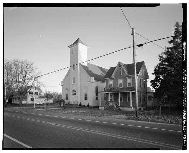 St. Paul's United Methodist Church, U.S. Highway 9, South of Maple Street, New Gretna, Burlington County, NJ
