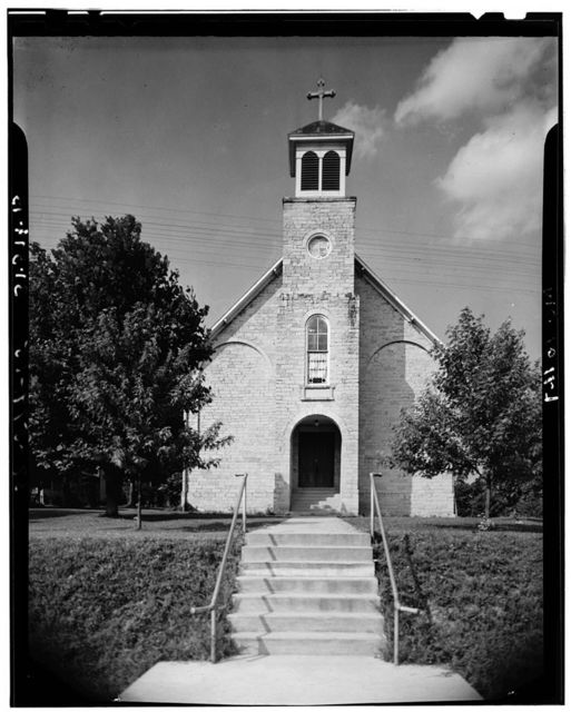 St. Philomena's Church, Bloomsdale, Ste. Genevieve County, MO