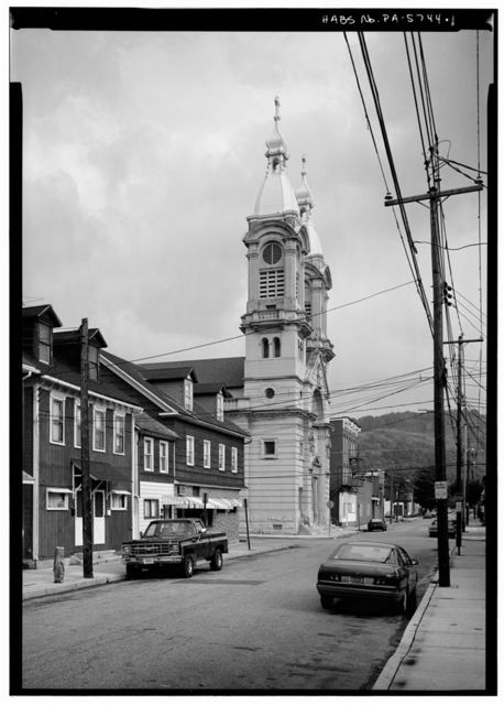 St. Stephen's Slovak Catholic Church, 414 Fourth Avenue, Johnstown, Cambria County, PA