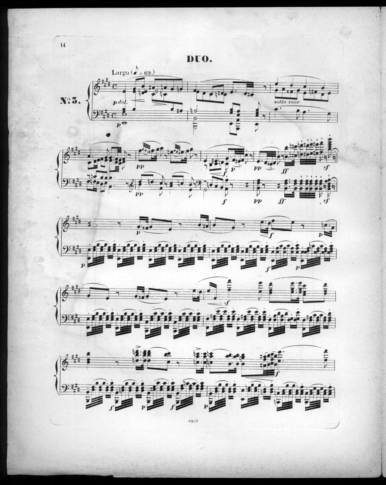 Stabat Mater de Rossini, Duo