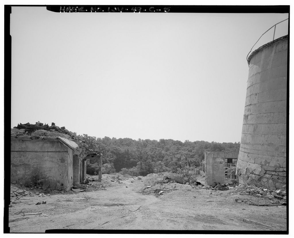 Standard Lime & Stone Quarry, Kilns No. 1, 2, 3, County Route 27, Millville, Jefferson County, WV