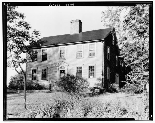 Stanley-Mathewson House, Old Post Road, North Attleboro, Bristol County, MA