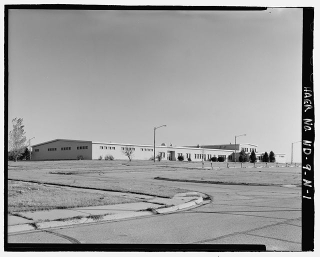 Stanley R. Mickelsen Safeguard Complex, Community Center, Southwest of Avenue B & First Street intersection, Nekoma, Cavalier County, ND