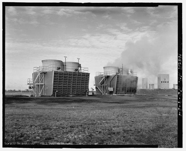 Stanley R. Mickelsen Safeguard Complex, Cooling Tower, In Limited Access Area, between Service Roads D & A, Nekoma, Cavalier County, ND