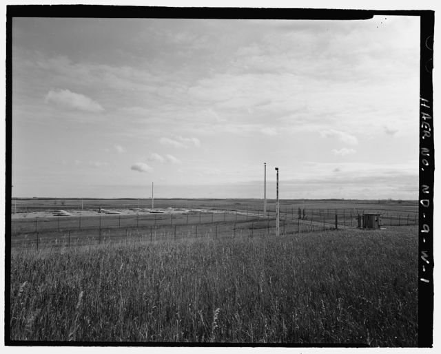 Stanley R. Mickelsen Safeguard Complex, Exclusion Area Sentry Station, At Service Road entrance to Missile Field, Nekoma, Cavalier County, ND