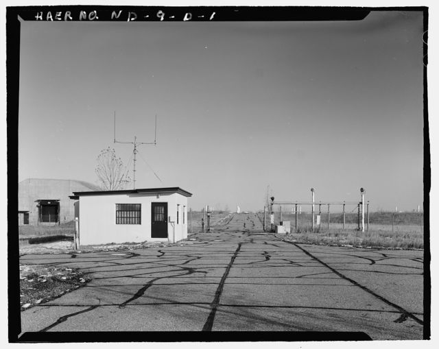 Stanley R. Mickelsen Safeguard Complex, Exclusion Area Sentry Station, On Patrol Road at entrance to Missile Field, Nekoma, Cavalier County, ND