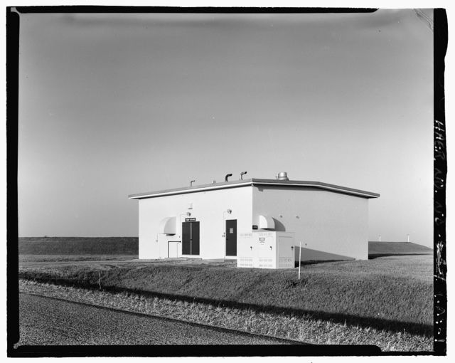 Stanley R. Mickelsen Safeguard Complex, Fresh Water Pump House, In Limited Access Area, on Patrol Road next to Open Storage Reservoir No. 736, Nekoma, Cavalier County, ND