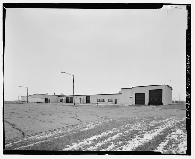 Stanley R. Mickelsen Safeguard Complex, Industrial Building, One block southwest of Limited Area Sentry Station, Nekoma, Cavalier County, ND