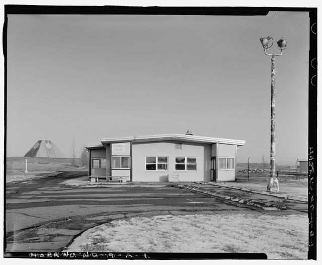 Stanley R. Mickelsen Safeguard Complex, Limited Area Sentry Station, At gate between Avenue A & Tactical Road, Nekoma, Cavalier County, ND