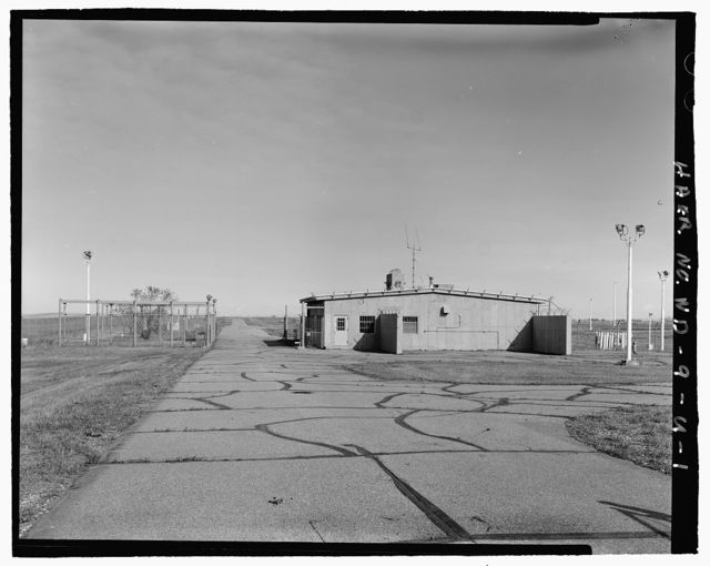 Stanley R. Mickelsen Safeguard Complex, Limited Area Sentry Station, Between Access Road & Patrol Road, Nekoma, Cavalier County, ND