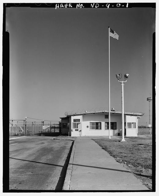 Stanley R. Mickelsen Safeguard Complex, LImited Area Sentry Station, Intersection of Service Road C & Service Road A, Nekoma, Cavalier County, ND