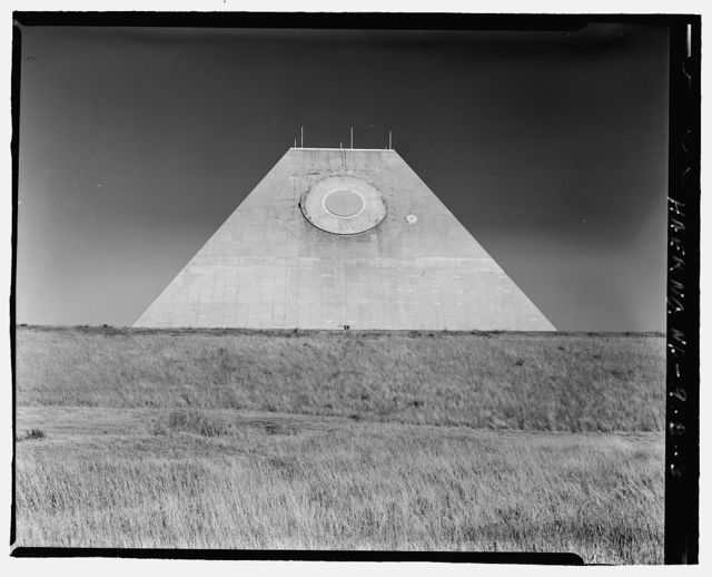 Stanley R. Mickelsen Safeguard Complex, Missile Site Control Building, Northeast of Tactical Road; southeast of Tactical Road South, Nekoma, Cavalier County, ND