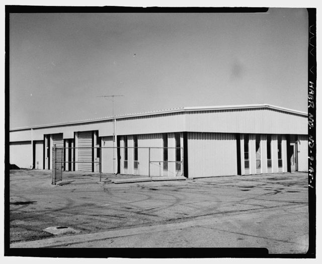 Stanley R. Mickelsen Safeguard Complex, Polar Telephone Building, South of Avenue A & West of Industrial Building, Nekoma, Cavalier County, ND