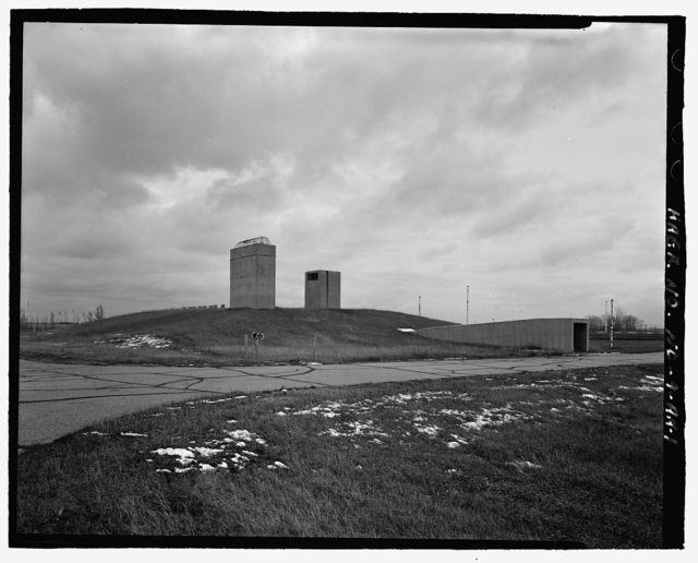Stanley R. Mickelsen Safeguard Complex, Remote Launch Operations Building, Near Service Road exit from Patrol Road, Nekoma, Cavalier County, ND