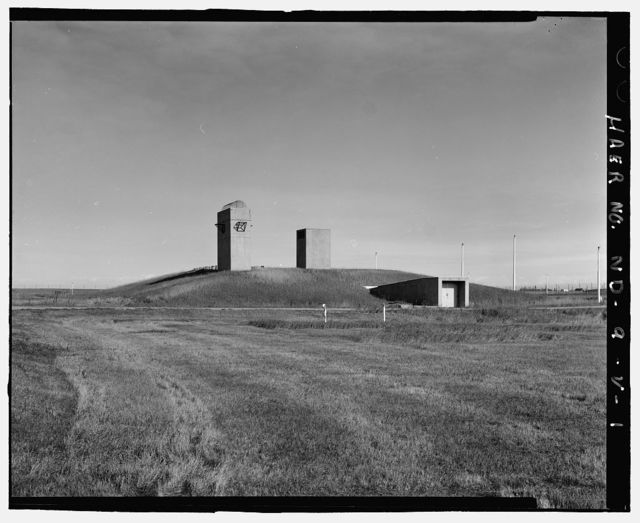 Stanley R. Mickelsen Safeguard Complex, Remote Launch Operations Buildings, Near Service Road exit from patrol Road, Nekoma, Cavalier County, ND