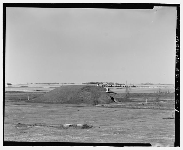 Stanley R. Mickelsen Safeguard Complex, Universal Missile Building, Between Tactical Road South & Patrol Road, Nekoma, Cavalier County, ND
