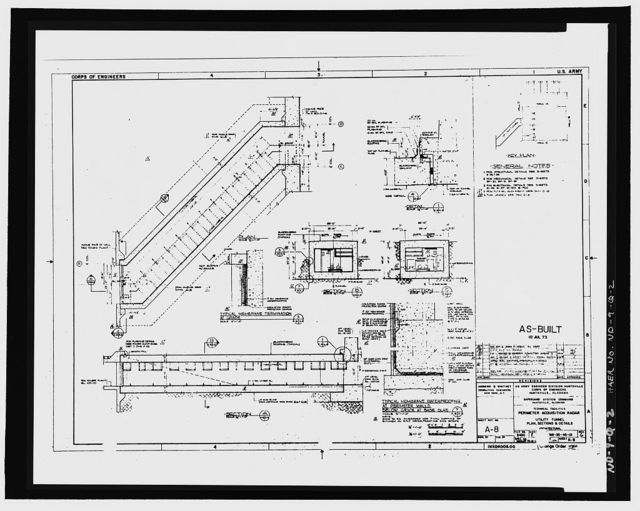 Stanley R. Mickelsen Safeguard Complex, Utility Tunnel, Between Limited Access Patrol Road & Service Road A, Nekoma, Cavalier County, ND