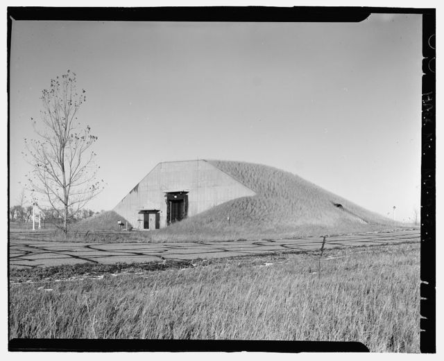 Stanley R. Mickelsen Safeguard Complex, Warhead Handling Building, Within Exclusion Area, Nekoma, Cavalier County, ND