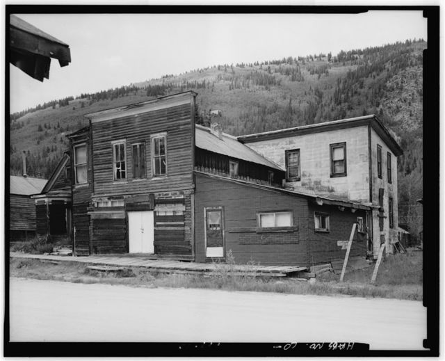 Stark Brothers Mercantile Company & Home Comfort Hotel, North side, West Main Street, Saint Elmo (historical), Chaffee County, CO